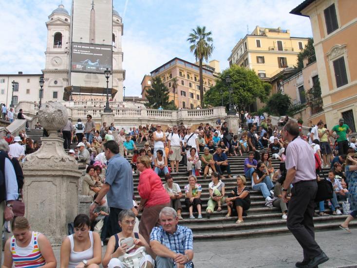 Rom, Den Spanske Trappe
